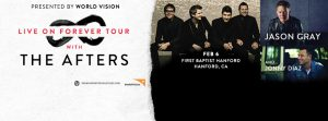 The Live on Forever Tour with The Afters, Jason Gray, & Jonny Diaz @ First Baptist Hanford | Hanford | California | United States