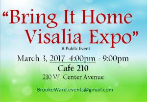 Bring it Home Visalia Expo @ Cafe 210 | Visalia | California | United States
