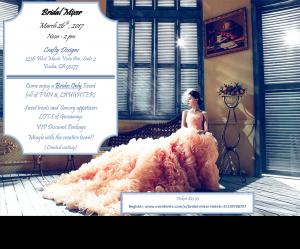 Bridal Mixer @ Crafty Designs | Visalia | California | United States