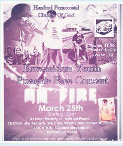 Free Youth Hip Hop Concert @ Hanford P.C.G   Hanford   California   United States