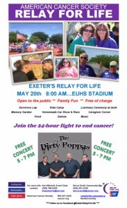 Relay For Life (Exeter) @ Exeter Union High School |  |  |