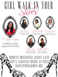 """Girl, Walk In Your Shoes!"" Woman's Conference @ Harvest of Harmony Intl. Church 