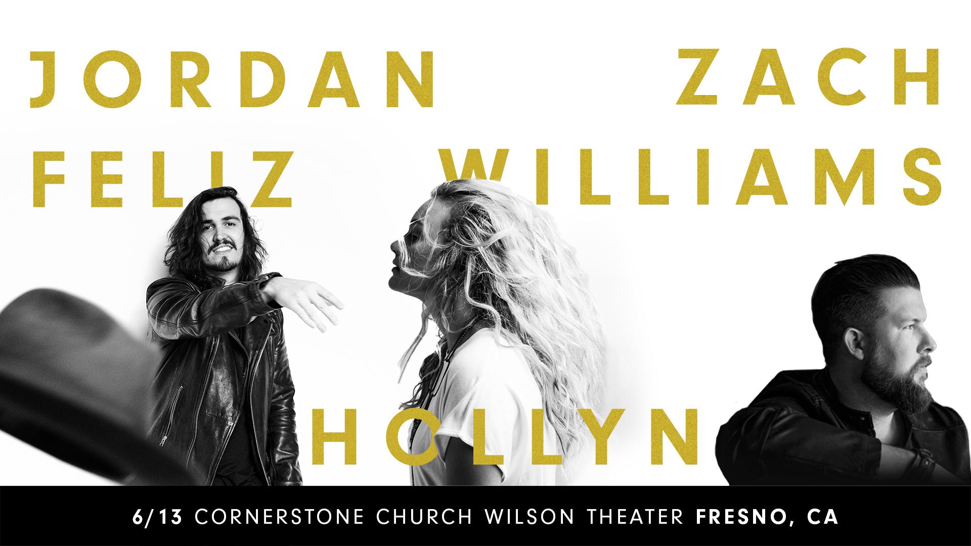 Jordan Feliz, Zach Williams, and Hollyn - Spirit 88 9 & 100 1
