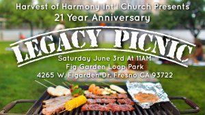 21 Year Anniversary Legacy Picnic @ Fig Garden Loop Park | Fresno | California | United States