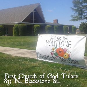 Just For You Vendor Boutique @ Tulare First Church of God | Tulare | California | United States