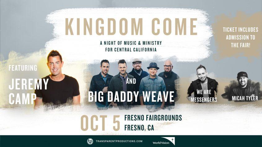 Kingdom Come W Jeremy Camp Big Daddy Weave We Are
