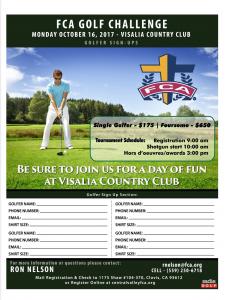 FCA GOLF CHALLENGE @ Visalia Country Club | Visalia | California | United States