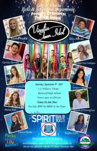 14th Annual Visalia Teen Idol @ L.J. Williams Theater | Visalia | California | United States