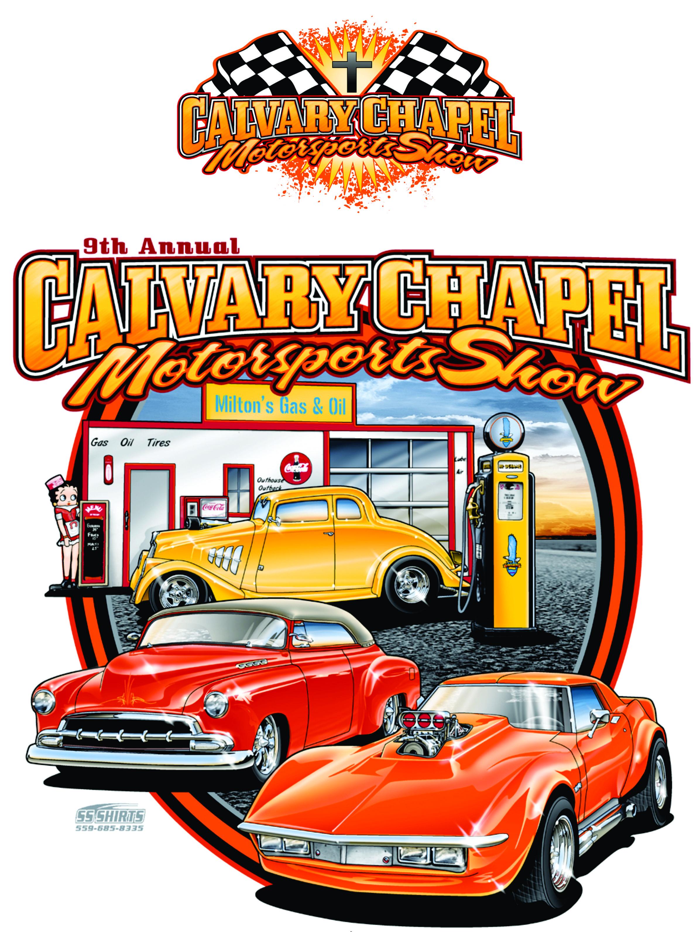 Calvary Chapel Visalia Car Show