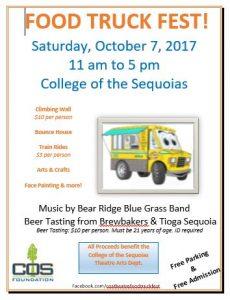 College of the Sequoias Food Truck Fest @ College of the Sequoias Quad Area | Visalia | California | United States
