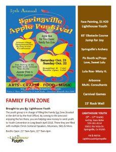 Springville Apple Festival @ Family Fun Zone | Springville | California | United States