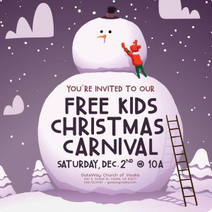 Free Kids Christmas Carnival at Gateway @ Gateway Church of Visalia | Visalia | California | United States