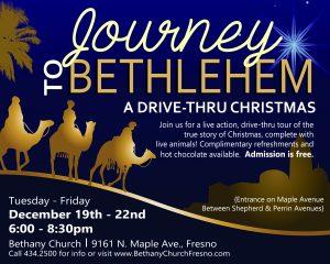 Journey to Bethlehem @ Bethany Church | Fresno | California | United States