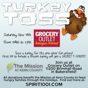 Turkey Toss Bakersfield @ Grocery Outlet | Bakersfield | California | United States