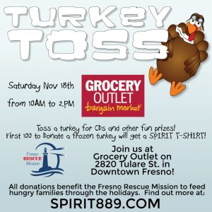 Turkey Toss Fresno @ Grocery Outlet | Fresno | California | United States