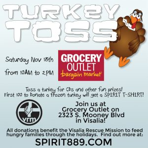 Turkey Toss Visalia @ Grocery Outlet | Visalia | California | United States