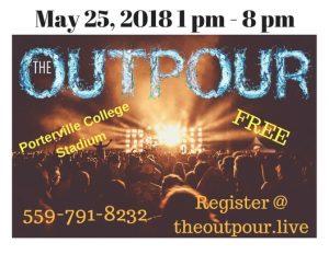 The Outpour @ Porterville College Stadium | Porterville | California | United States