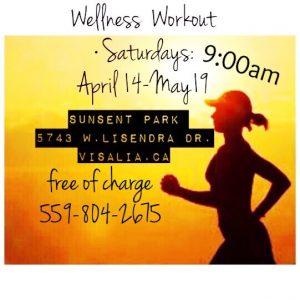 Wellness Workout @ Sunset Park | Visalia | California | United States