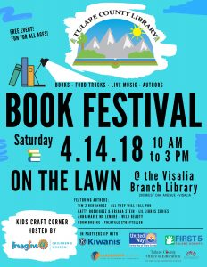 Book Festival! @ Tulare County Library - Visalia Branch | Visalia | California | United States