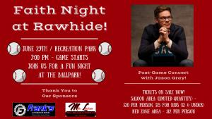 Faith Night at Rawhide! @ Recreation Park/Rawhide Ballpark   Visalia   California   United States