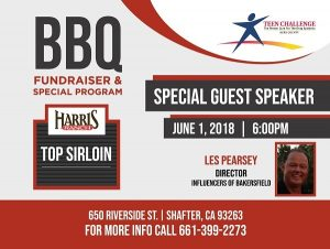 Teen Challenge Annual BBQ Fundraiser & Special Program @ Teen Challenge Men's Ranch   Shafter   California   United States