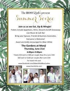 Summer Soiree Event @ The Gardens at Monji   Bakersfield   California   United States