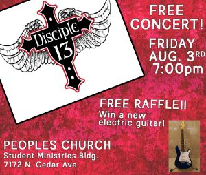 Free Christian Rock Concert! @ People's Church - Student Ministries Bulding | Fresno | California | United States
