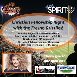 Christian Fellowship Night Part II! @ Chukchansi Park | Fresno | California | United States