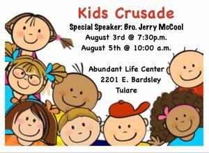 """Jesus Is My Superhero"" Kids Crusade @ Abundant Life's Center | Tulare | California | United States"
