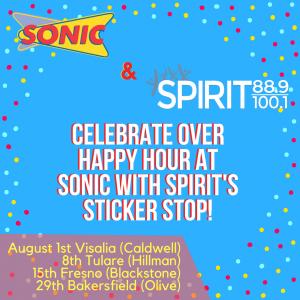 A Sonic Sticker Stop! @ Sonic Drive Thru | Visalia | California | United States