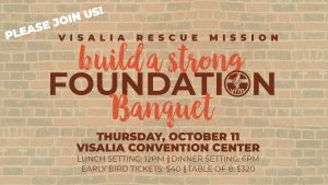 Build a Strong Foundation Luncheon 2018 @ Visalia Convention Center | Visalia | California | United States