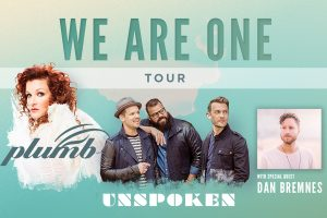 Plumb and Unspoken: We are One Tour @ Ambassasdor Baptist Church | Fresno | California | United States