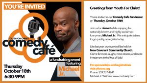 YFC Comedy Cafe @ New Covenant Community Church   Fresno   California   United States