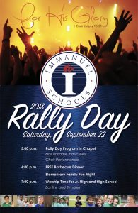Rally Day at Immanuel Schools @ Immanuel Schools | Reedley | California | United States