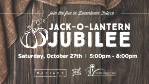 Jack-O-Lanter Jubilee Downtown Tulare @ Downtown Tulare (On the corner of K & Kern)   Tulare   California   United States