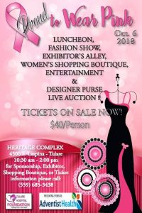 Proud to Wear Pink! @ Heritage Complex   Tulare   California   United States