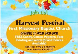 Harvest Festival @ First Missionary Baptist Church   Fresno   California   United States
