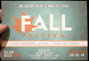 Fall Festival & Crafts Bizarre @ First Pentecostal Church | Bakersfield | California | United States
