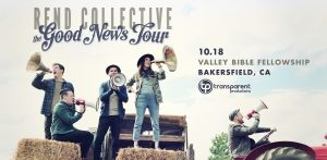 REND COLLECTIVE - Live in Bakersfield! @ Valley Bible Fellowship | Bakersfield | California | United States