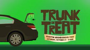 Neighborhood Church's Trunk or Treat @ Houston neighborhood park   Visalia   California   United States