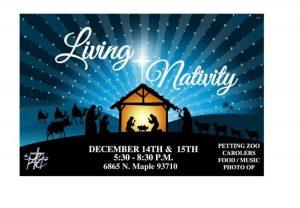 Living Nativity @ Life Cathedral Church of God | Fresno | California | United States