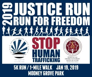 2019 Justice Run: Run for Freedom 5k and 1-mile walk @ Mooney Grove Park in Visalia