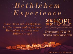 The Bethlehem Experience @ Hope Kingsburg: A Mennonite Brethren Church