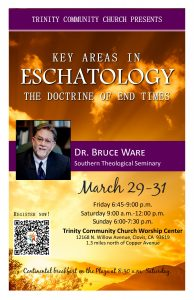 The Doctrine of End Times @ Trinity Community Church