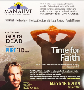 Man Alive Christian Men's Conference @ Porterville Church of the Nazarene
