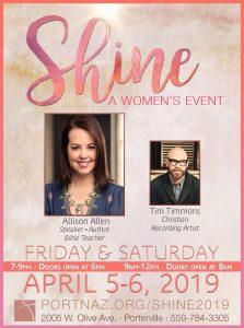 SHINE: A Women's Event @ Porterville Church of the Nazarene