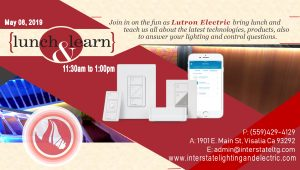 Lutron Electric Lunch and Learn @ Interstate Lighting and Electric