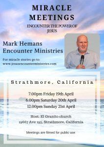 Miracle Healings with Mark Hemans @ El Granito Worship Center