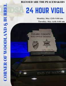 24 HR Vigil @ Peace Officer Memorial