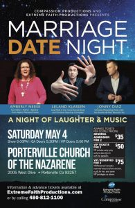 Marriage Date Night @ Porterville Naz